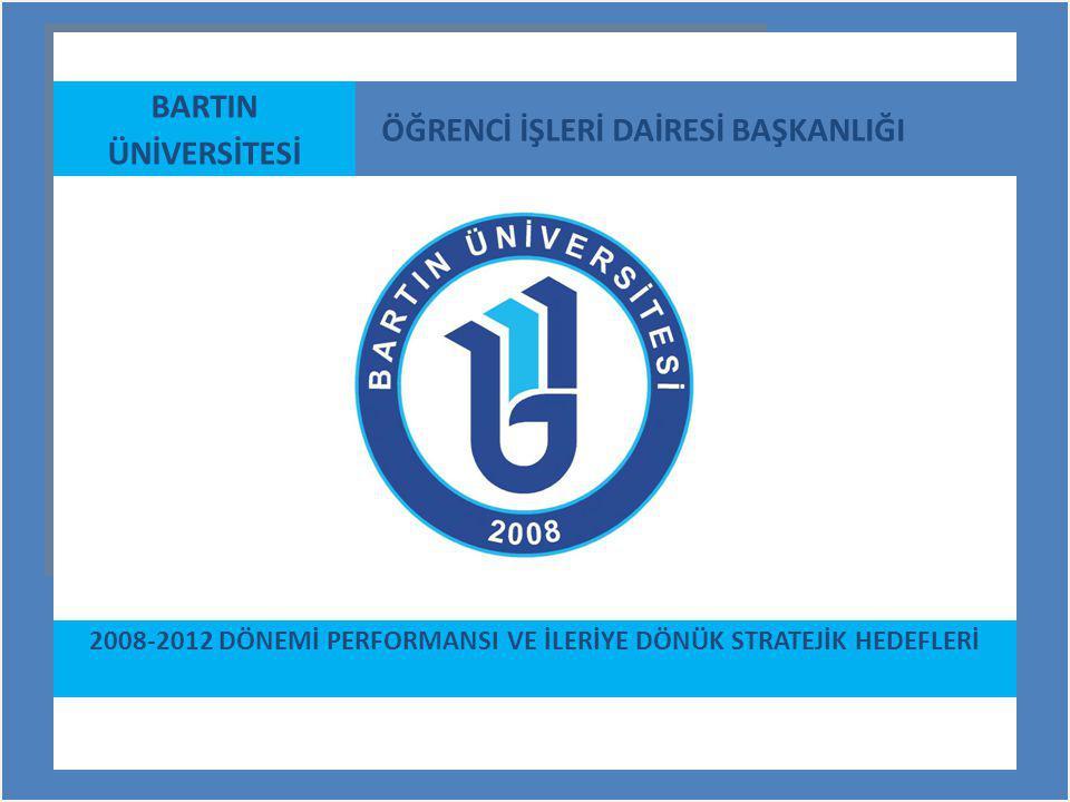 2008-2012 DÖNEMİ PERFORMANSI VE İLERİYE DÖNÜK STRATEJİK HEDEFLERİ