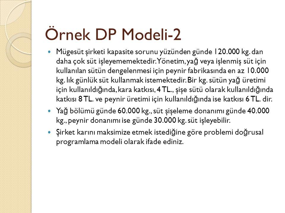 Örnek DP Modeli-2
