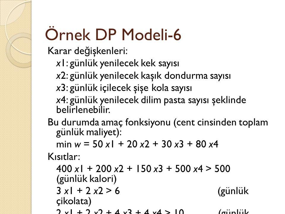 Örnek DP Modeli-6