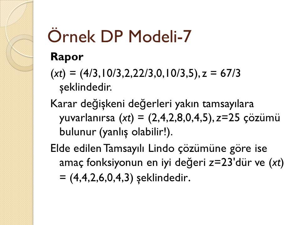 Örnek DP Modeli-7