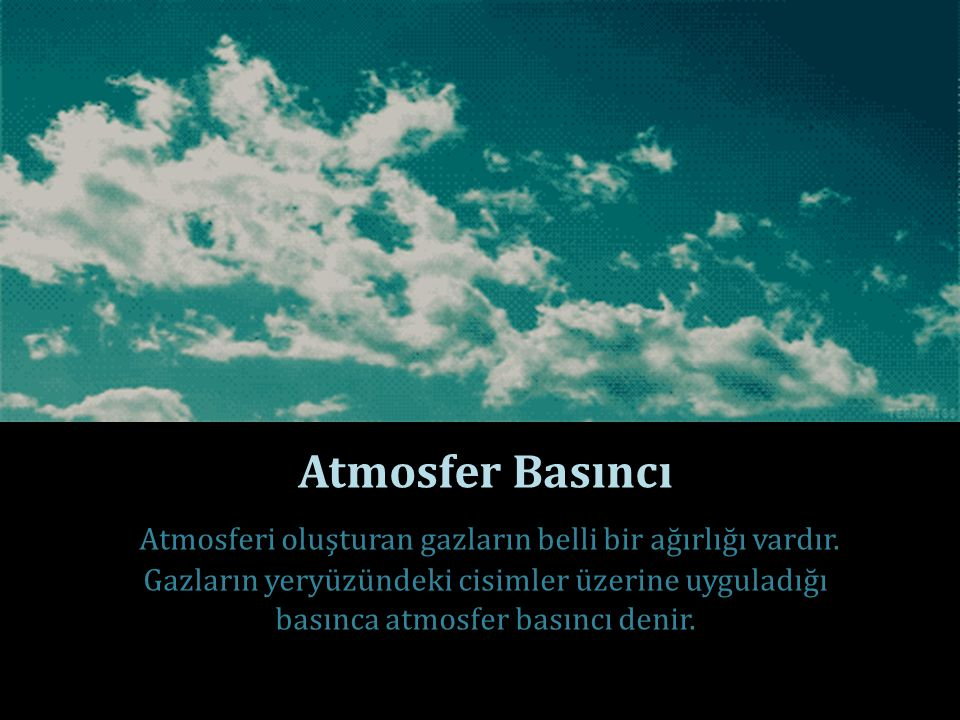 Atmosfer Basıncı