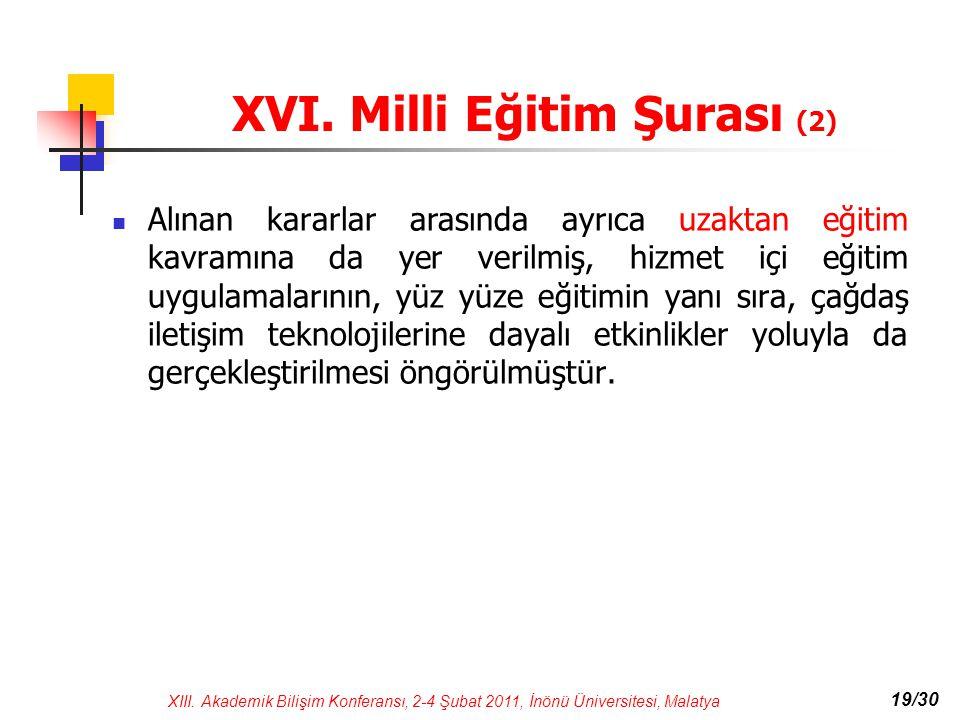 XVI. Milli Eğitim Şurası (2)