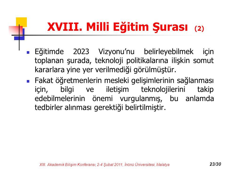 XVIII. Milli Eğitim Şurası (2)