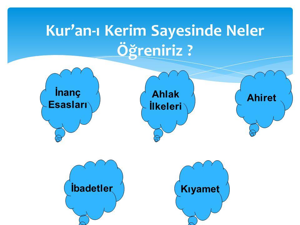 Kur'an-ı Kerim Sayesinde Neler Öğreniriz
