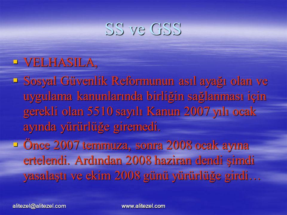 alitezel@alitezel.com SS ve GSS. VELHASILA,
