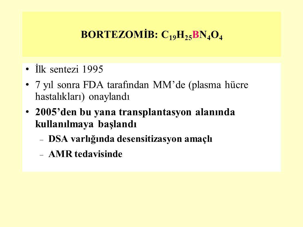 7 yıl sonra FDA tarafından MM'de (plasma hücre hastalıkları) onaylandı