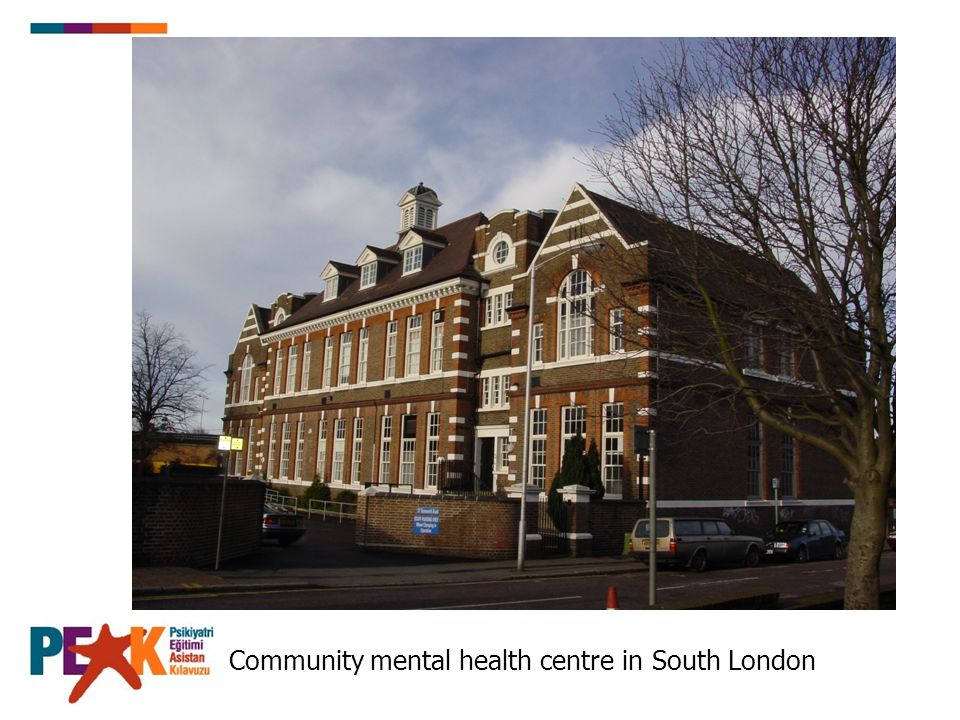 Community mental health centre in South London