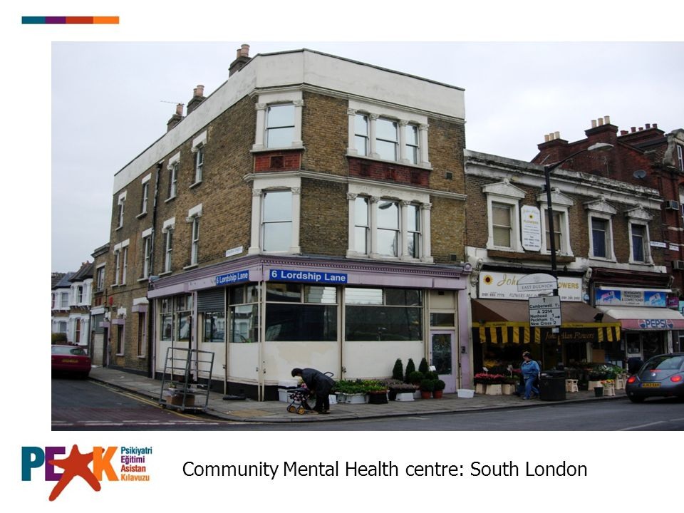 Community Mental Health centre: South London