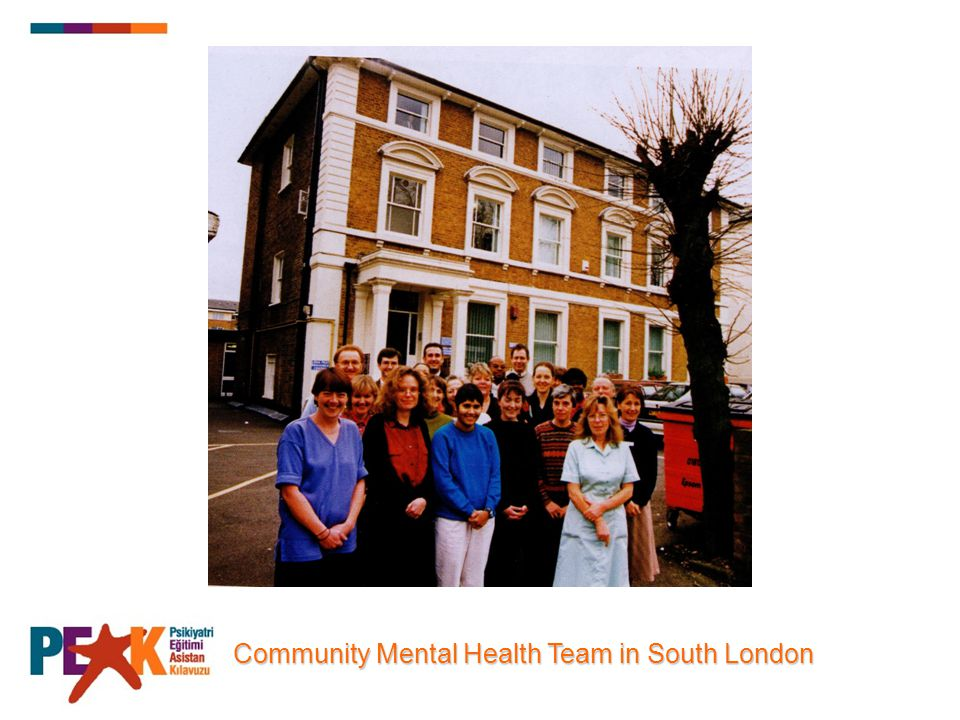 Community Mental Health Team in South London