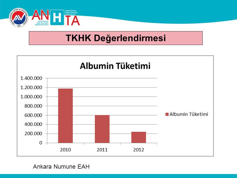 TKHK Değerlendirmesi Ankara Numune EAH