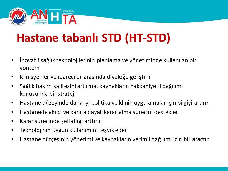 Hastane tabanlı STD (HT-STD)