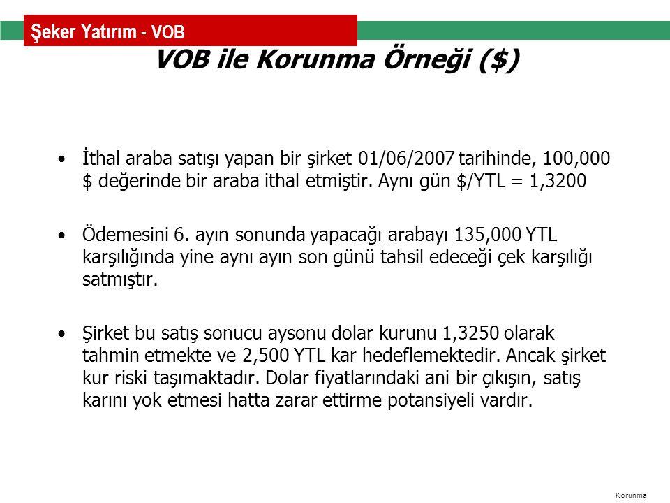 VOB ile Korunma Örneği ($)