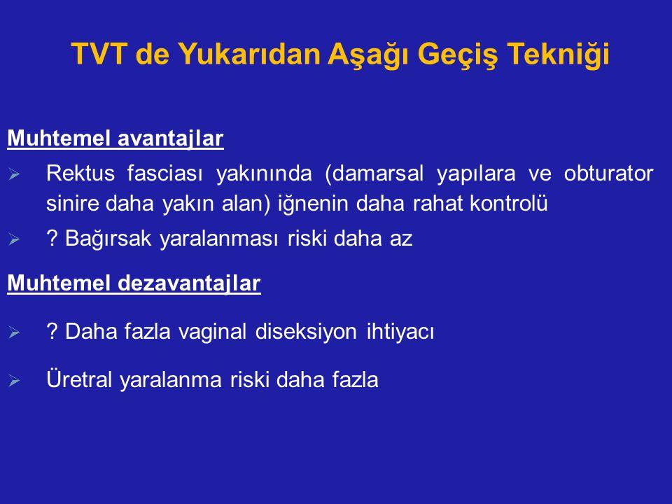 TVT de Yukarıdan Aşağı Geçiş Tekniği
