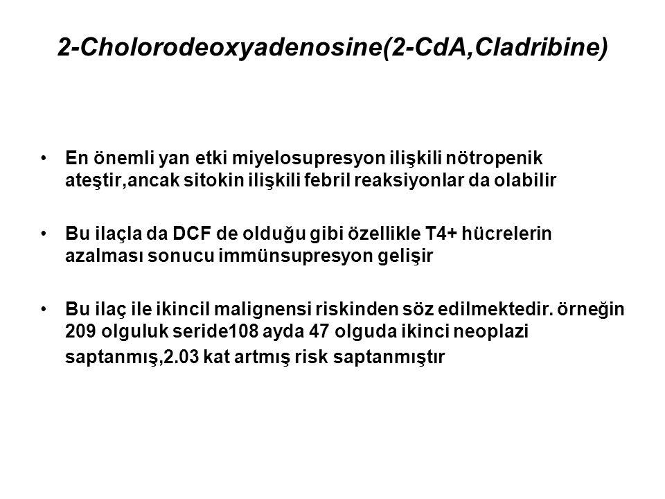 2-Cholorodeoxyadenosine(2-CdA,Cladribine)