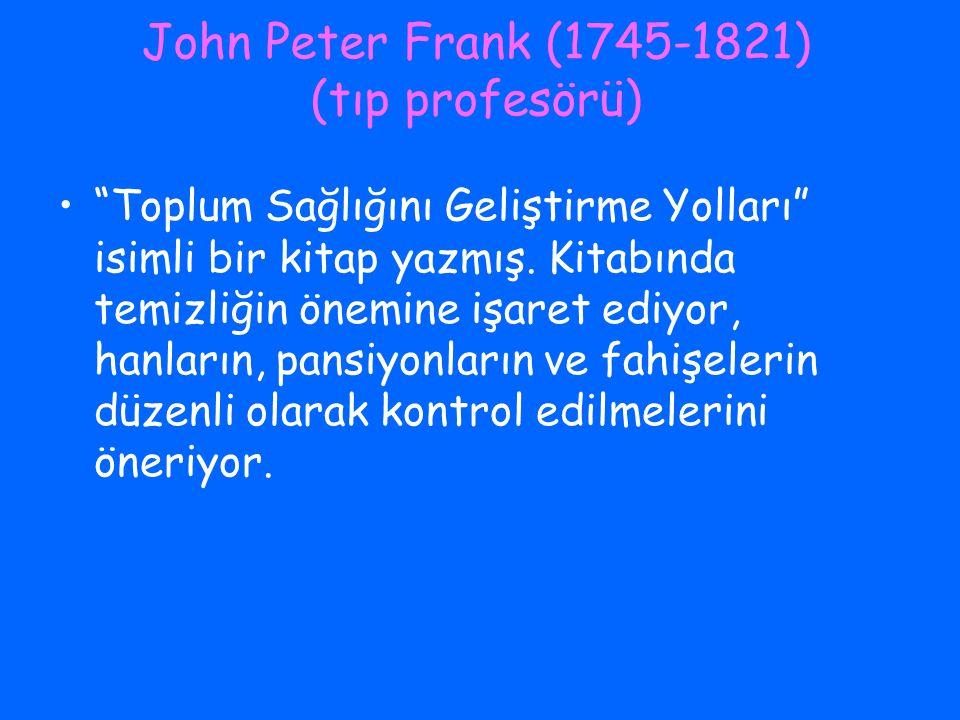 John Peter Frank (1745-1821) (tıp profesörü)