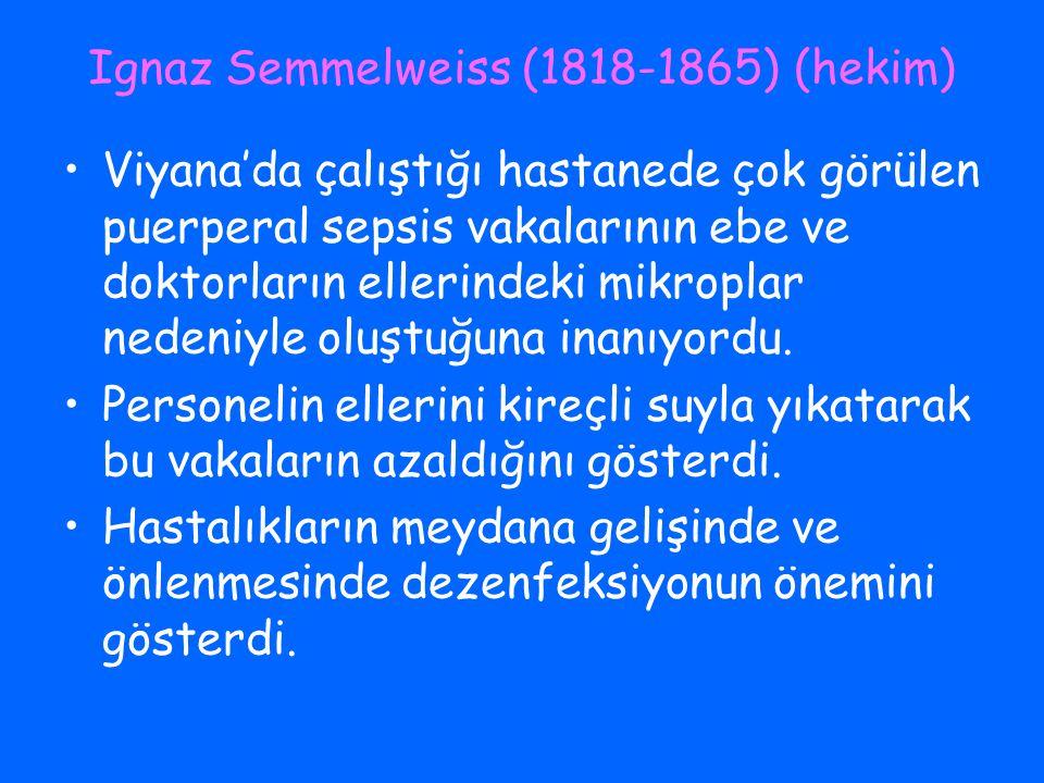Ignaz Semmelweiss (1818-1865) (hekim)