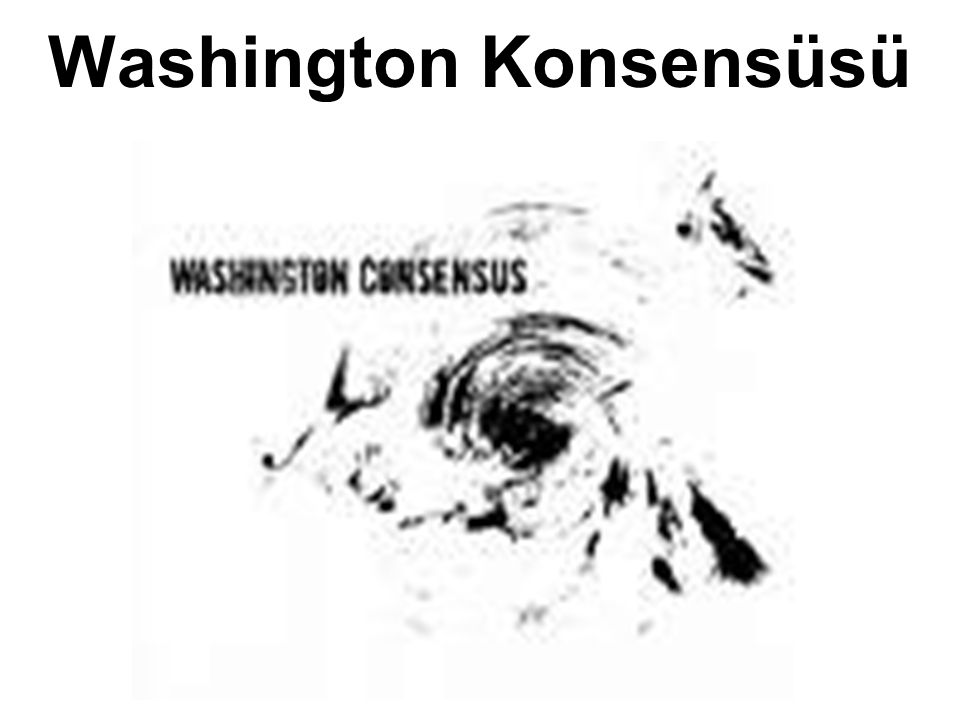 Washington Konsensüsü