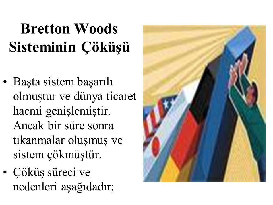Bretton Woods Sisteminin Çöküşü