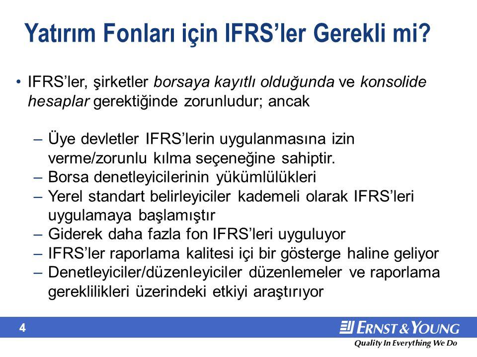 June 22, 2001 IFRS Çerçevesi.