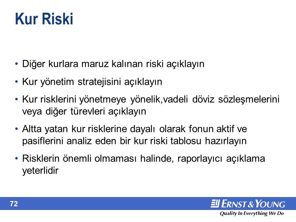 June 22, 2001 IFRS 7. IFRS 7, IAS 32 ve IAS 39 kapsamındaki risk açıklama gerekliliklerini tekrar etmektedir.
