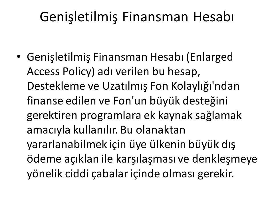 Genişletilmiş Finansman Hesabı