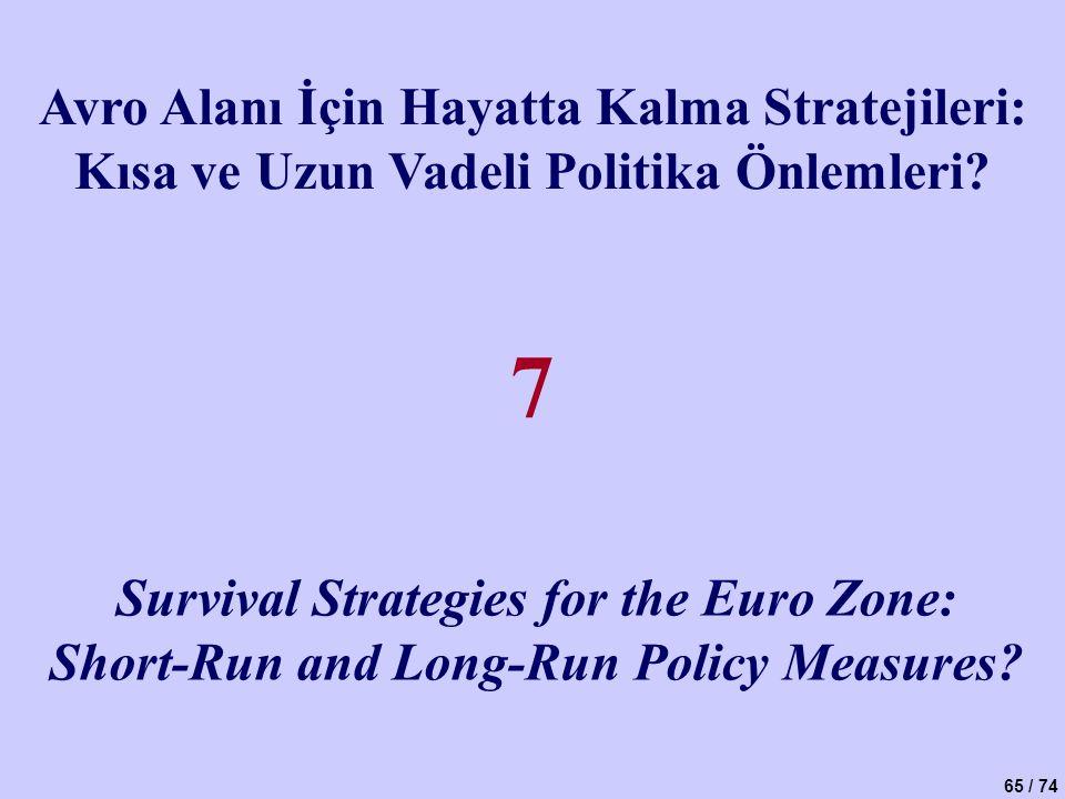 7 Avro Alanı İçin Hayatta Kalma Stratejileri:
