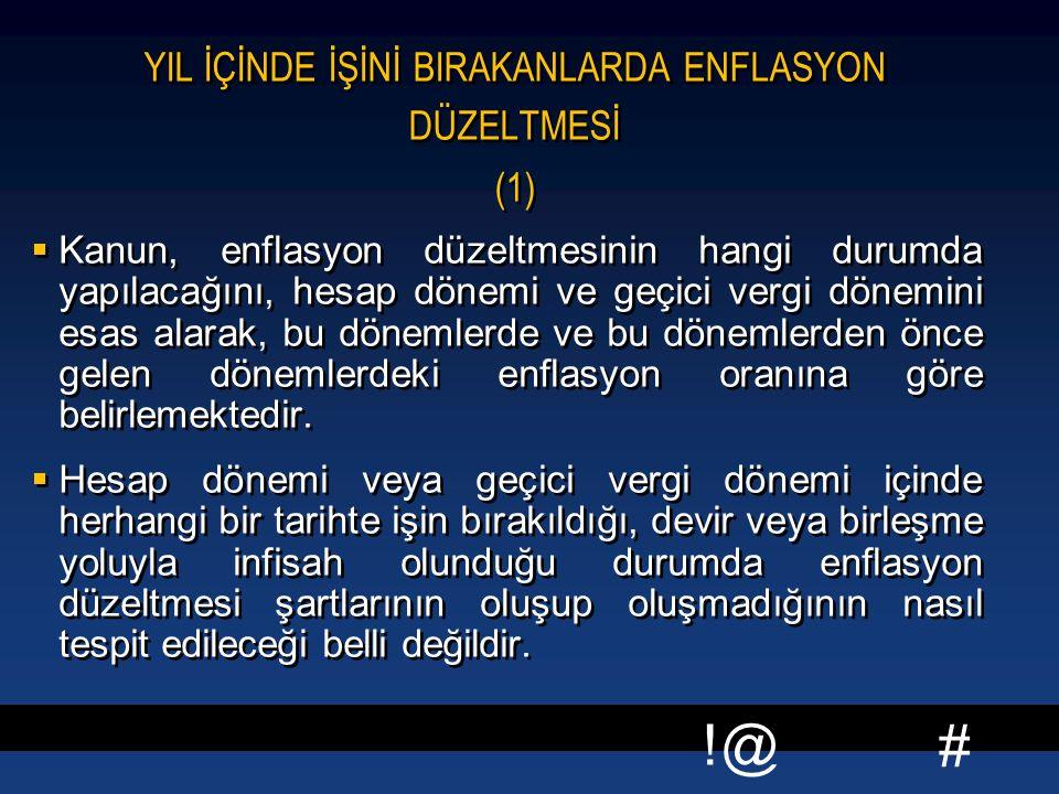 YIL İÇİNDE İŞİNİ BIRAKANLARDA ENFLASYON DÜZELTMESİ (1)