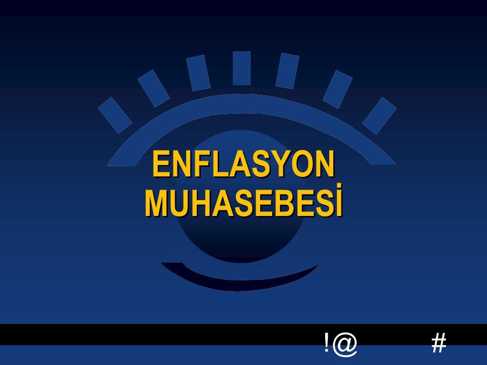 ENFLASYON MUHASEBESİ