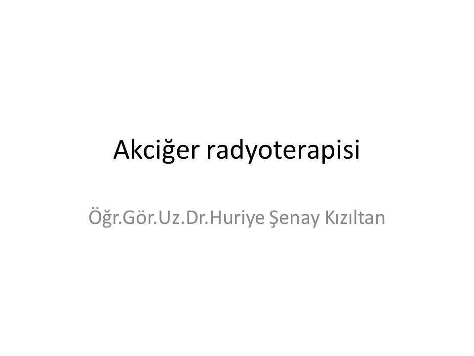 Akciğer radyoterapisi