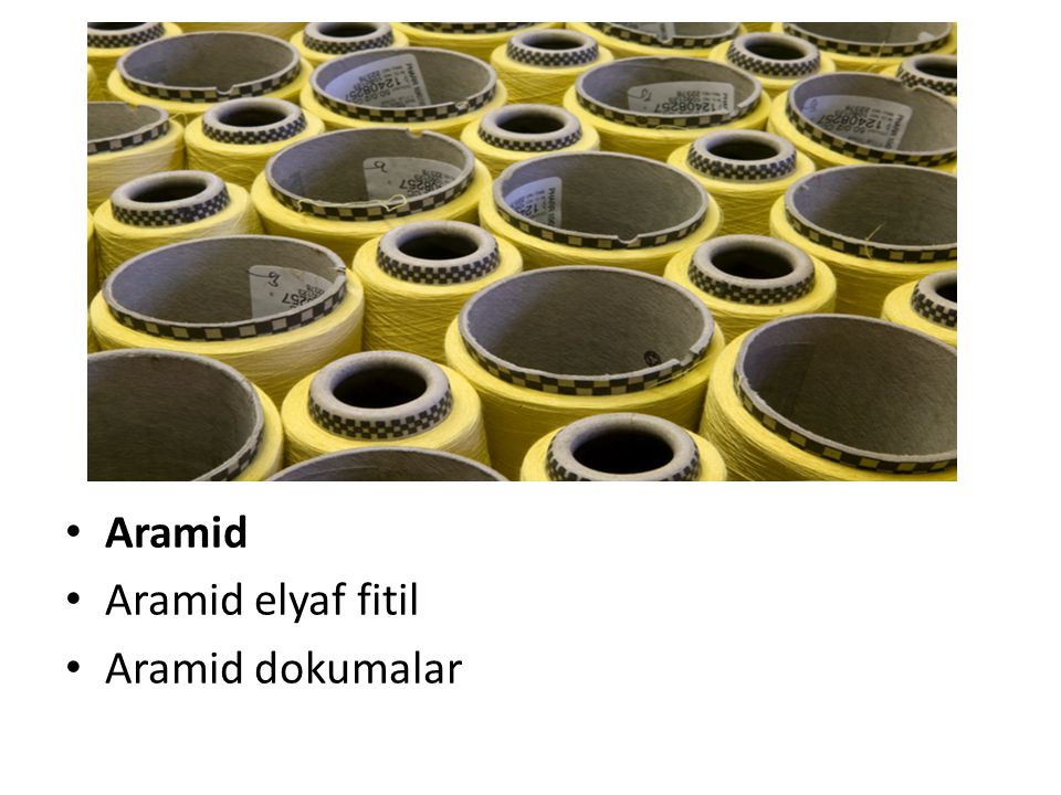 Aramid Aramid elyaf fitil Aramid dokumalar