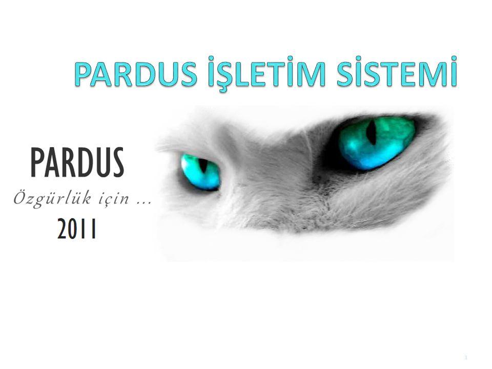 PARDUS İŞLETİM SİSTEMİ