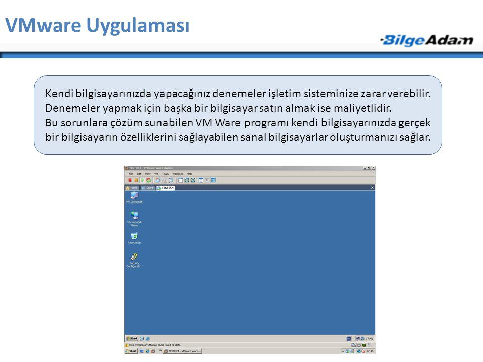 VMware Uygulaması