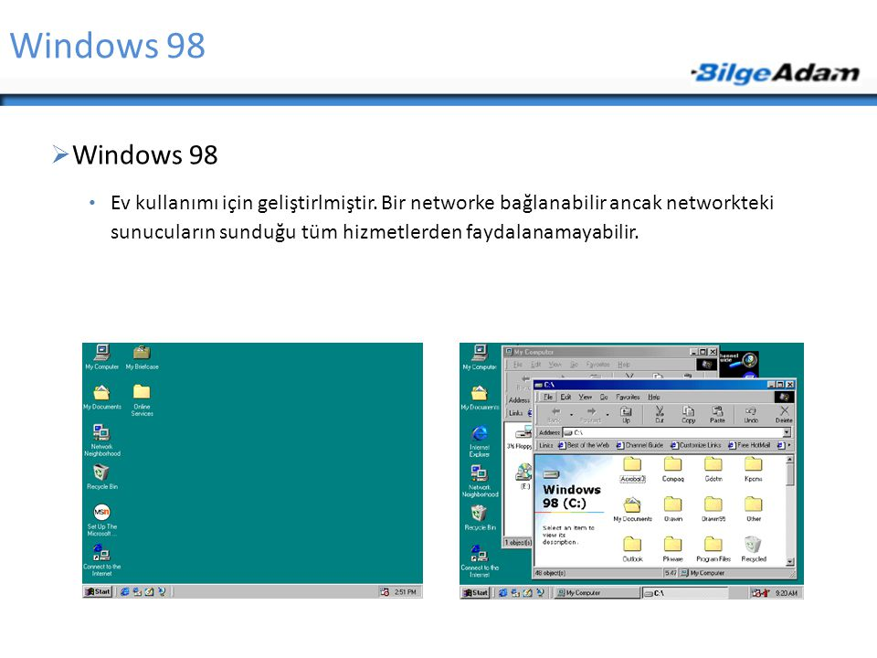 Windows 98 Windows 98.