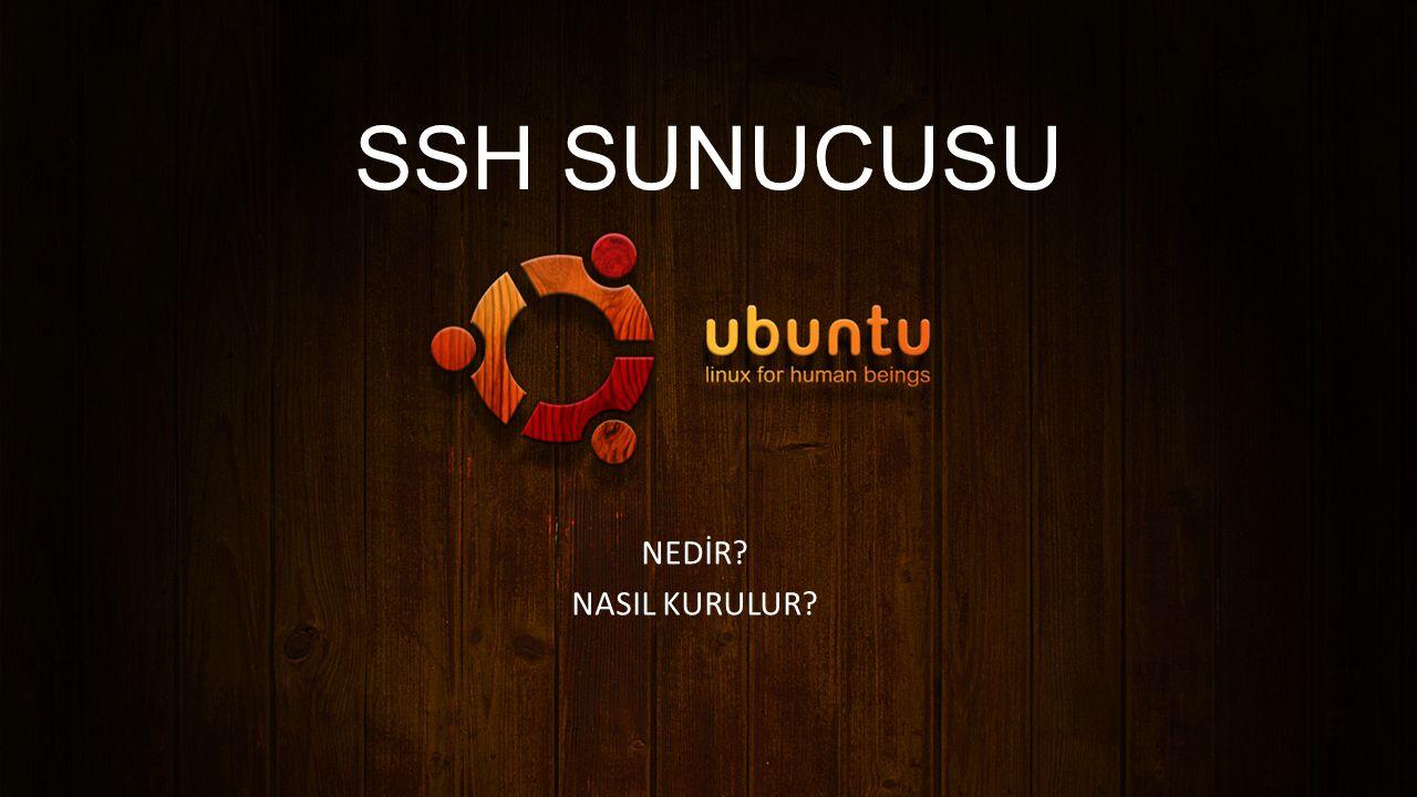 SSH SUNUCUSU NEDİR NASIL KURULUR