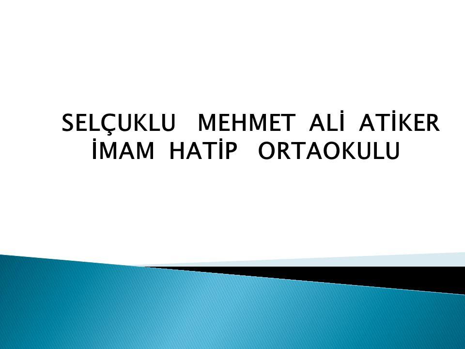 SELÇUKLU MEHMET ALİ ATİKER