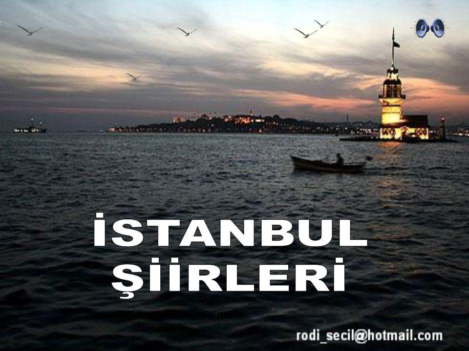 İSTANBUL ŞİİRLERİ