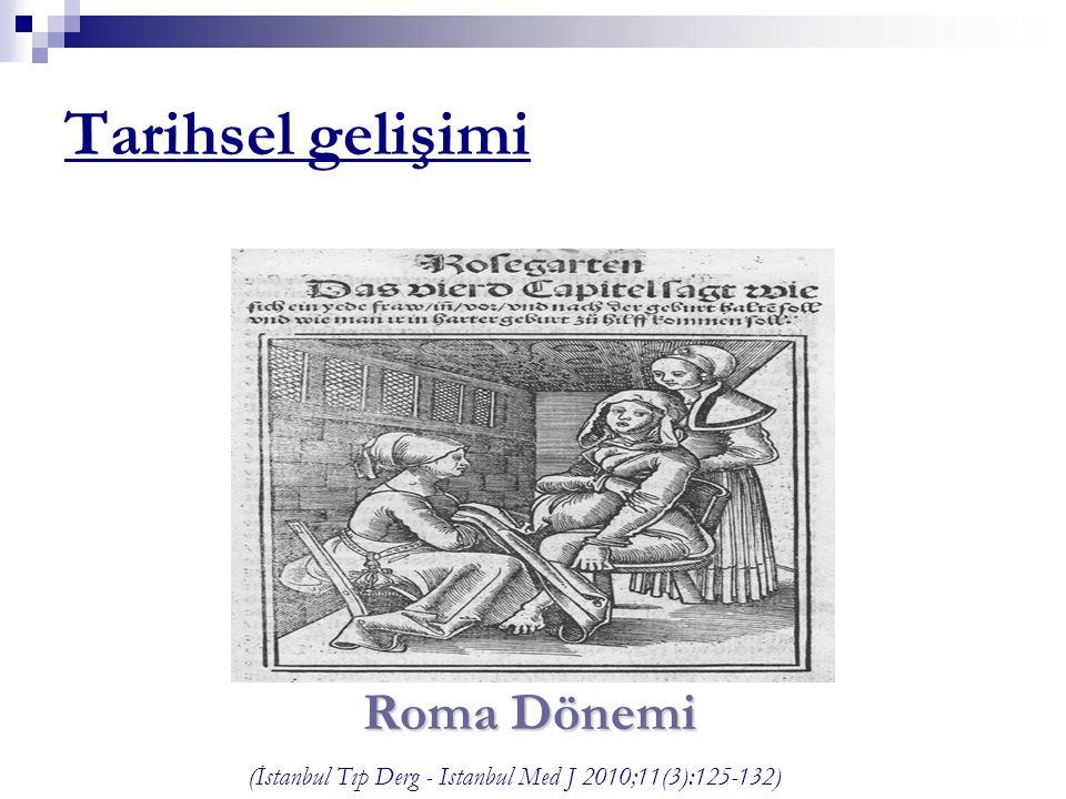Tarihsel gelişimi Roma Dönemi