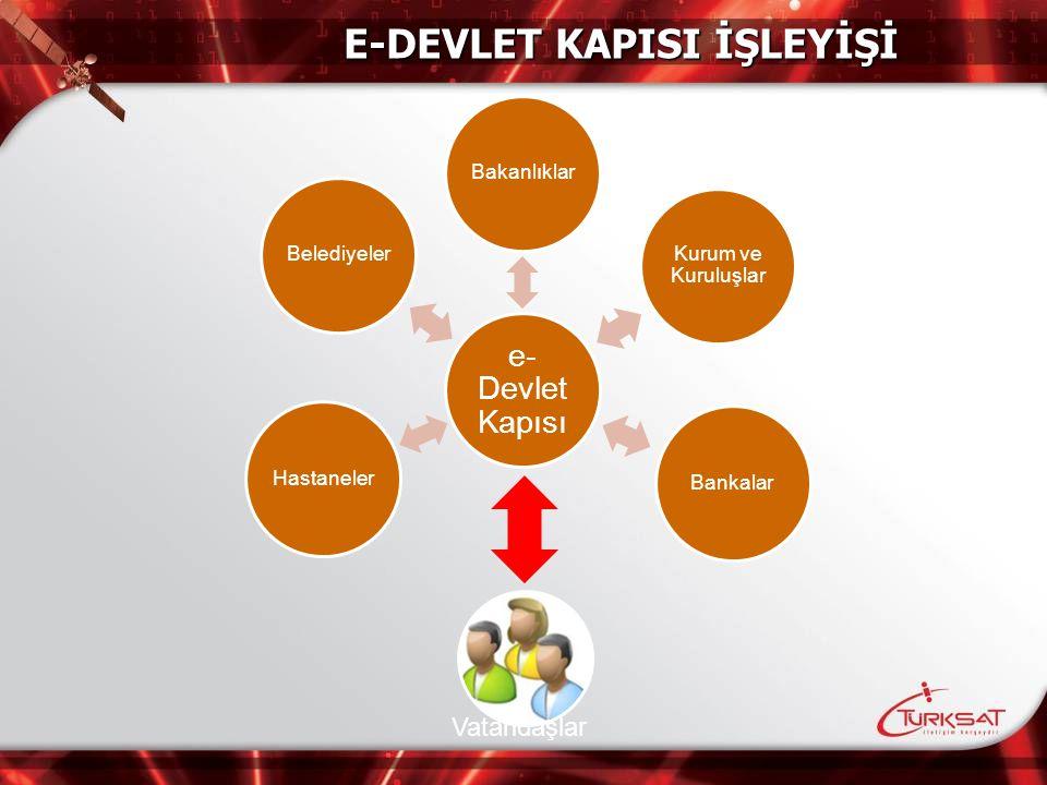 E-DEVLET KAPISI İŞLEYİŞİ