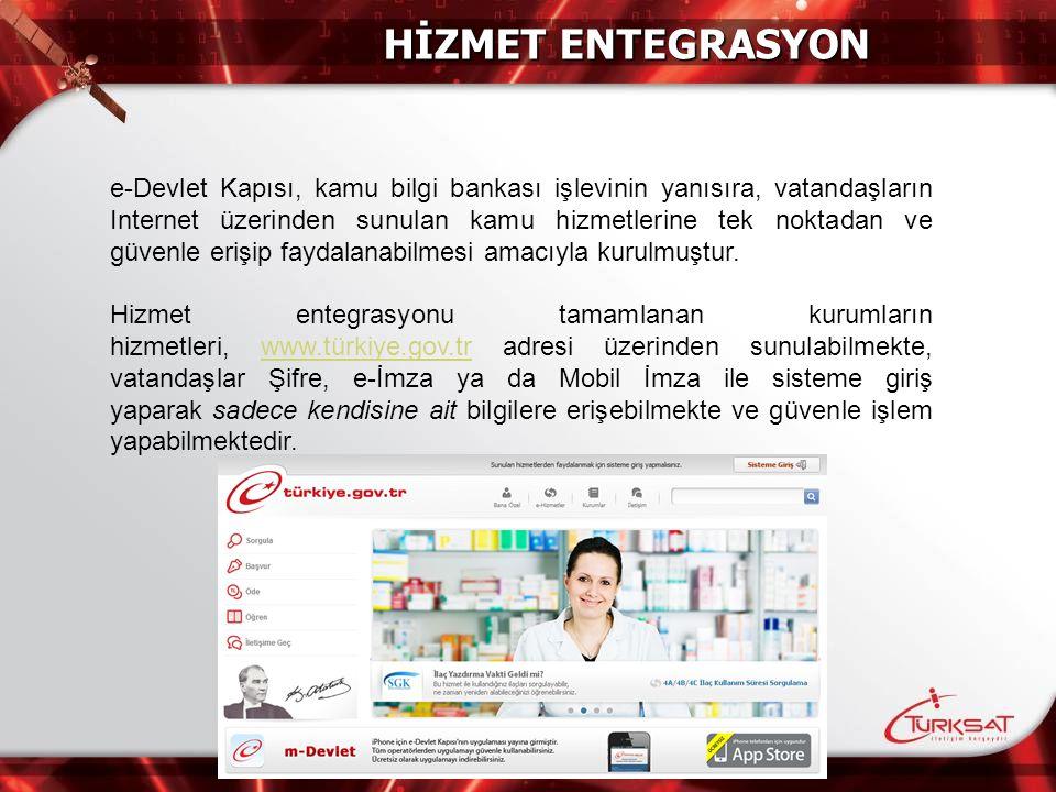 HİZMET ENTEGRASYON