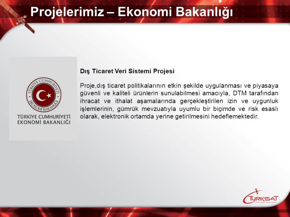 Projelerimiz – Ekonomi Bakanlığı
