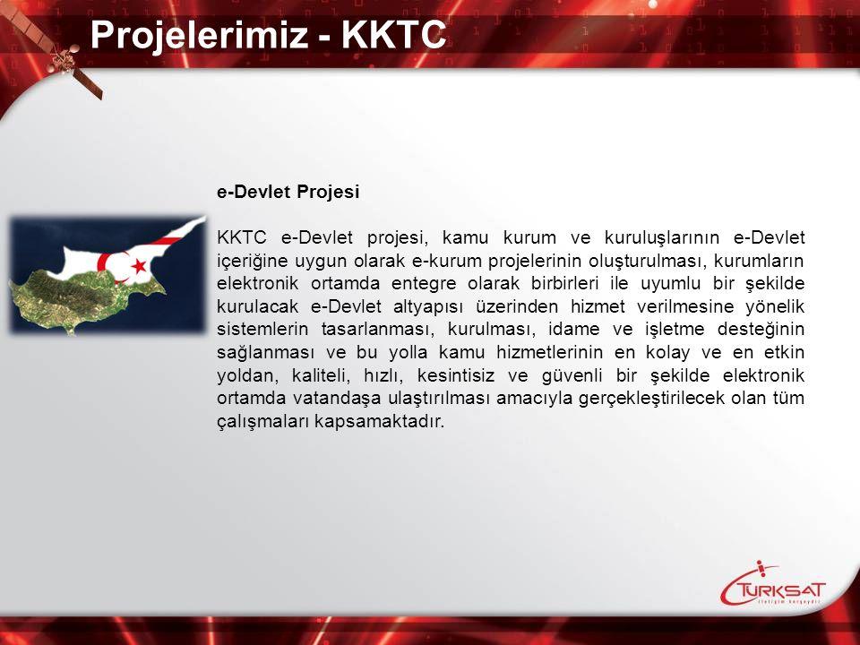 Projelerimiz - KKTC e-Devlet Projesi