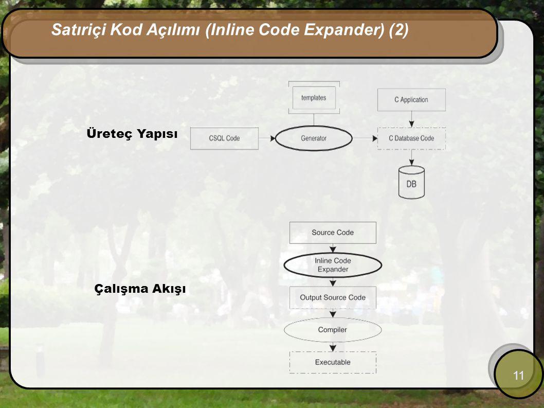 Satıriçi Kod Açılımı (Inline Code Expander) (2)