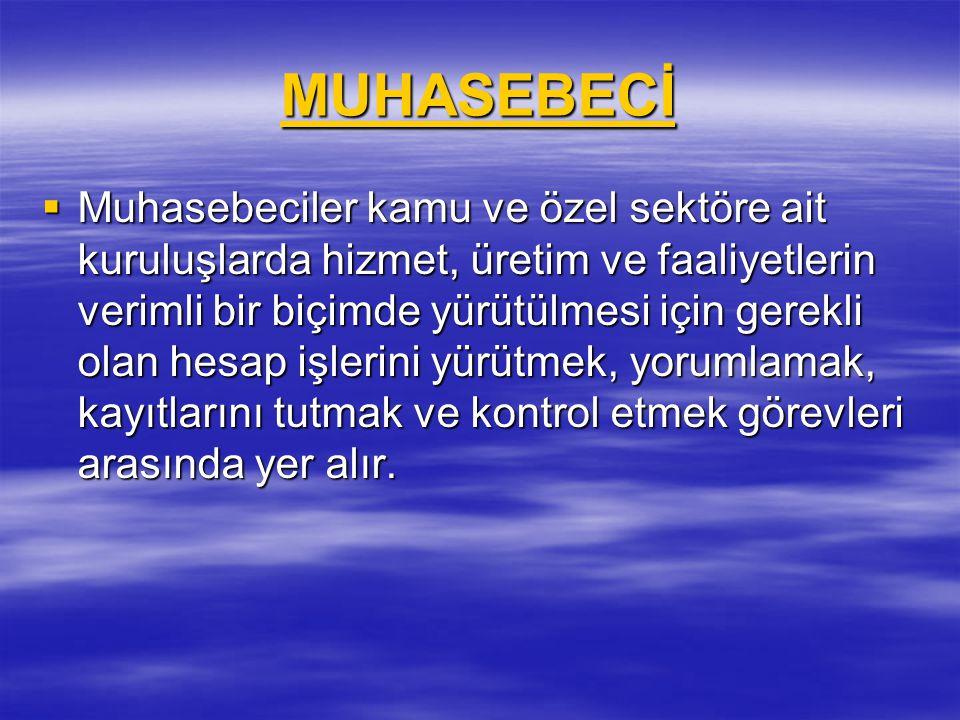 MUHASEBECİ