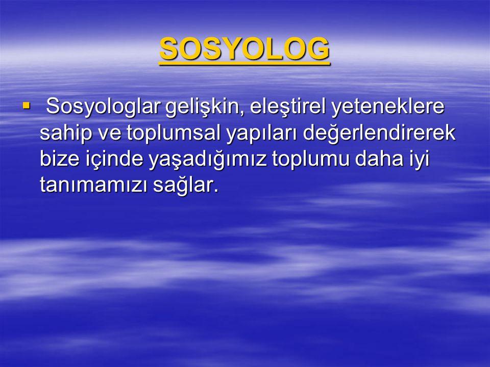 SOSYOLOG