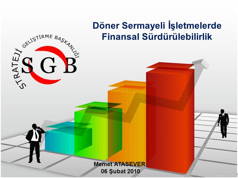 Döner Sermayeli İşletmelerde Finansal Sürdürülebilirlik