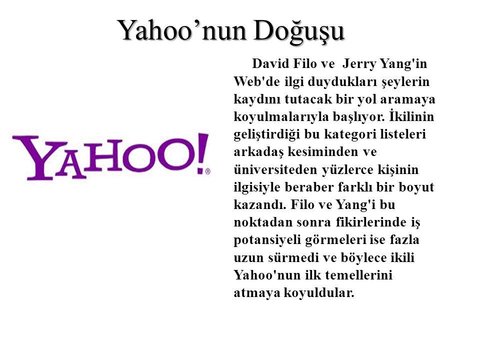 Yahoo'nun Doğuşu
