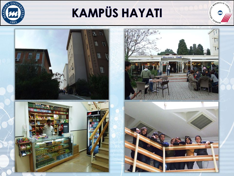 KAMPÜS HAYATI