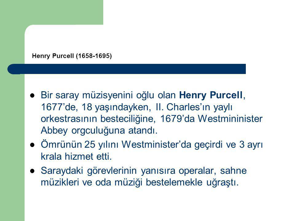 Ömrünün 25 yılını Westminister'da geçirdi ve 3 ayrı krala hizmet etti.