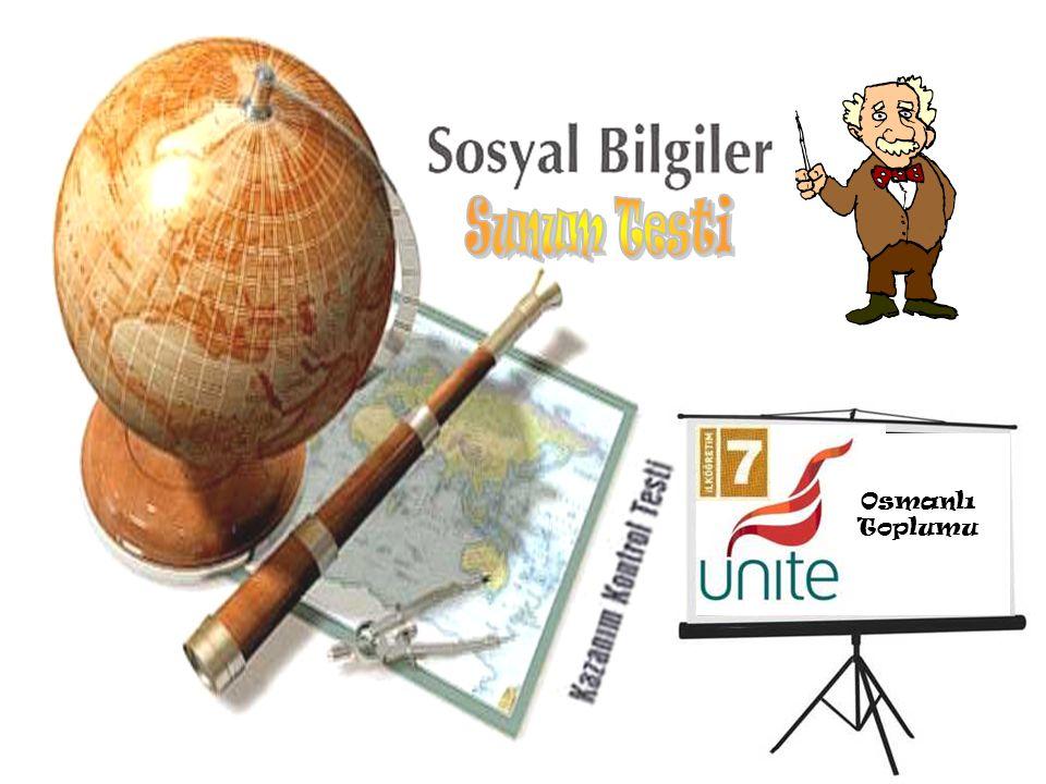 Osmanlı Toplumu Sunum Testi