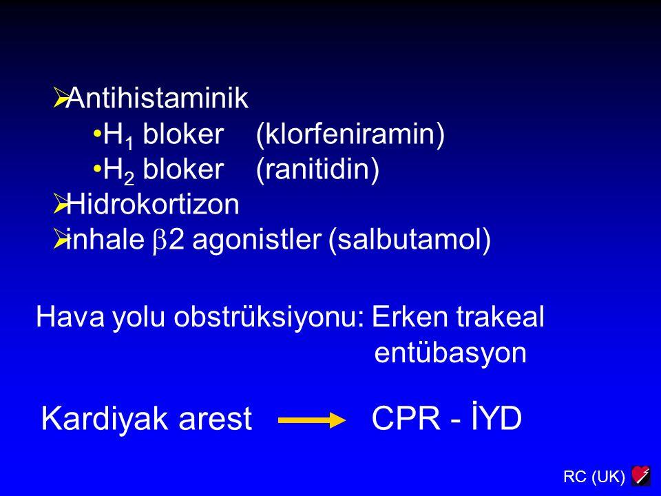Kardiyak arest CPR - İYD
